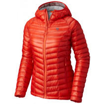 Mountain Hardwear Ghost Whisperer™ Hooded Down Jacket Fiery Red