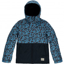 O'Neill Pg Gem Jacket Blue Aop W/ Yellow-Orange