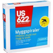 Orkla Care Myggmedel Spiral 10stk US622