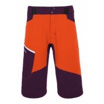Ortovox Merino Shield Tec Shorts Pala Men's Crazy Orange