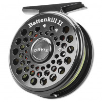 Orvis Battenkill II - Fluesnelle, Sort
