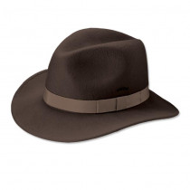 Orvis Packable Felt Hat Brown