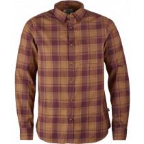 Fjällräven Övik Flannel Shirt Longsleeve Chestnut