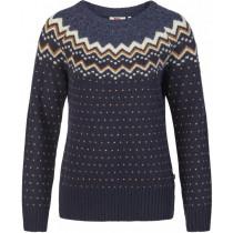 Fjällräven Övik Knit Sweater Women Dark Navy
