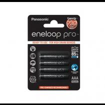 Panasonic Ni-Mh 4stk Eneloop Pro Black AAA/R03