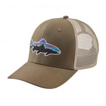 Patagonia Fitz Roy Trout Trucker Hat Dark Ash
