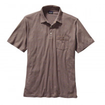 Patagonia M's Squeaky Clean Polo Fathom: Oaks Brown