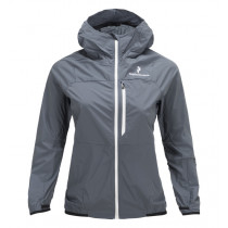 Peak Performance Women's Black Light Wind Jacket Grisaille