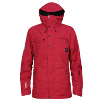 Planks Clothing Men's Feel Good 2 Layer Jacket Red