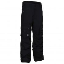 Planks Clothing Men's Good Times 2 Layer Cargo Pants Black