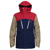 Planks Clothing Men's Good Times 2 Layer Jacket Navy