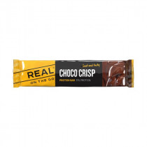 Real On the Go Protein Bar Choco Crisp 40 gram