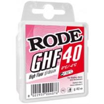 Rode Glider Høyfluor Rød 40 Gr 0/-4