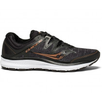 Saucony Guide Iso, Women's Black/Denim/Copper