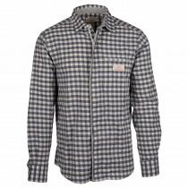 Amundsen Sports Vagabond Cotton/Flannel Shirt Men Chequered Blue