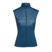 Icebreaker Women's Ellipse Vest Prussian Blue