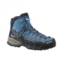 Salewa Men´s Alp Flow Gtx Black Olive/Royal Blue