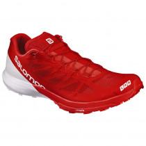 Salomon S-Lab Sense 6 Racing Red/White/White