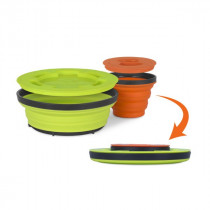 Sea To Summit X-Seal & Go Set Liten Lime / Orange