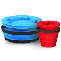 Sea To Summit X-Seal & Go Set Stor Royal Blue / Red