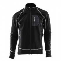 Skigo Men's Elevation Stretch Warm-Up Jacket Black