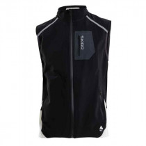 Skigo Men's Zenith Eco Warm-Up Vest Black