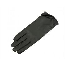 Felines Glatt Skinnhanske For Touchscreen Black