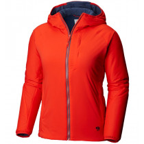 Mountain Hardwear W Kor Strata™ Hoody Fiery Red