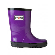 Stonz Rain Bootz Purple/Black
