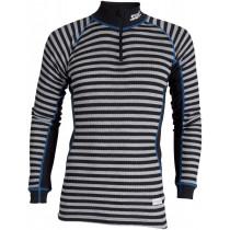 Swix Racex Bodyw Halfzip Men's Black/Grey Stripes