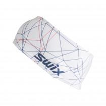 Swix Race Warm Headband Bright White/ New Navy/ Red