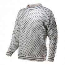 Devold Nordsjø Sweater Crew Neck Offwhite/Anth.