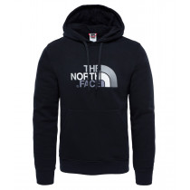 402dc4febb64 The North Face Men s Drew Peak Pullover Hoodie Black Black Herre M L XL  Størrelser