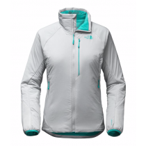 The North Face Women's Ventrix Jacket High Rise Gry/Vistula Blu