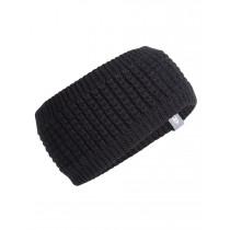 Icebreaker Adult Affinity Headband Black/Gritstone Hthr