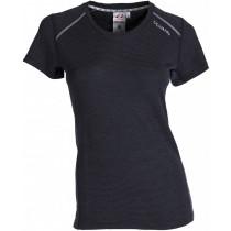 Ulvang Rav 100% Short Sleeve Women's Black/Granite/High Rise