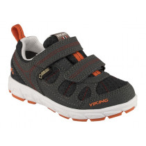 Viking Ludo Low Gtx Charcoal/Red