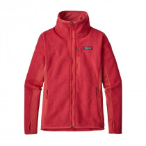 Patagonia Women's Performance Better Sweater Jacket Static Red