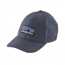 Patagonia P-6 Logo Stretch Fit Hat Dolomite Blue