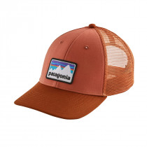 Patagonia Shop Sticker Patch Lopro Trucker Hat Quartz Coral
