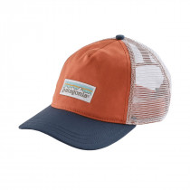 Patagonia W's Pastel P-6 Label Layback Trucker Hat Quartz Coral