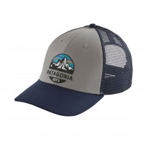 Patagonia Fitz Roy Scope Lopro Trucker Hat Drifter Grey