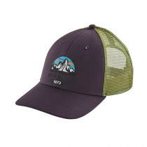 Patagonia Fitz Roy Scope Lopro Trucker Hat Piton Purple
