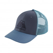 Patagonia Live Simply Winding Lopro Trucker Hat Dolomite Blue