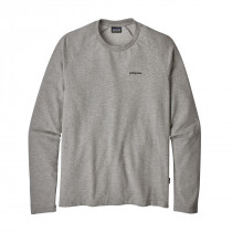 Patagonia M's P-6 Logo Lw Crew Sweatshirt Feather Grey W/Black