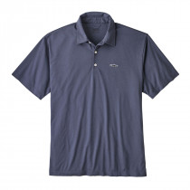 Patagonia M's Polo - Trout Fitz Roy Dolomite Blue