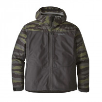 Patagonia M's River Salt Jkt Rock Camo: Ink Black