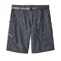 Patagonia M's Technical Stretch Shorts Rock Jigsaw: Smolder Blue