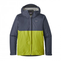 Patagonia M's Torrentshell Jkt Dolomite Blue W/Light Gecko Green