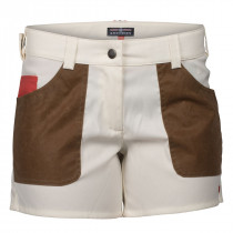 Amundsen Sports 5incher Field Shorts Womens Offwhite/Tan